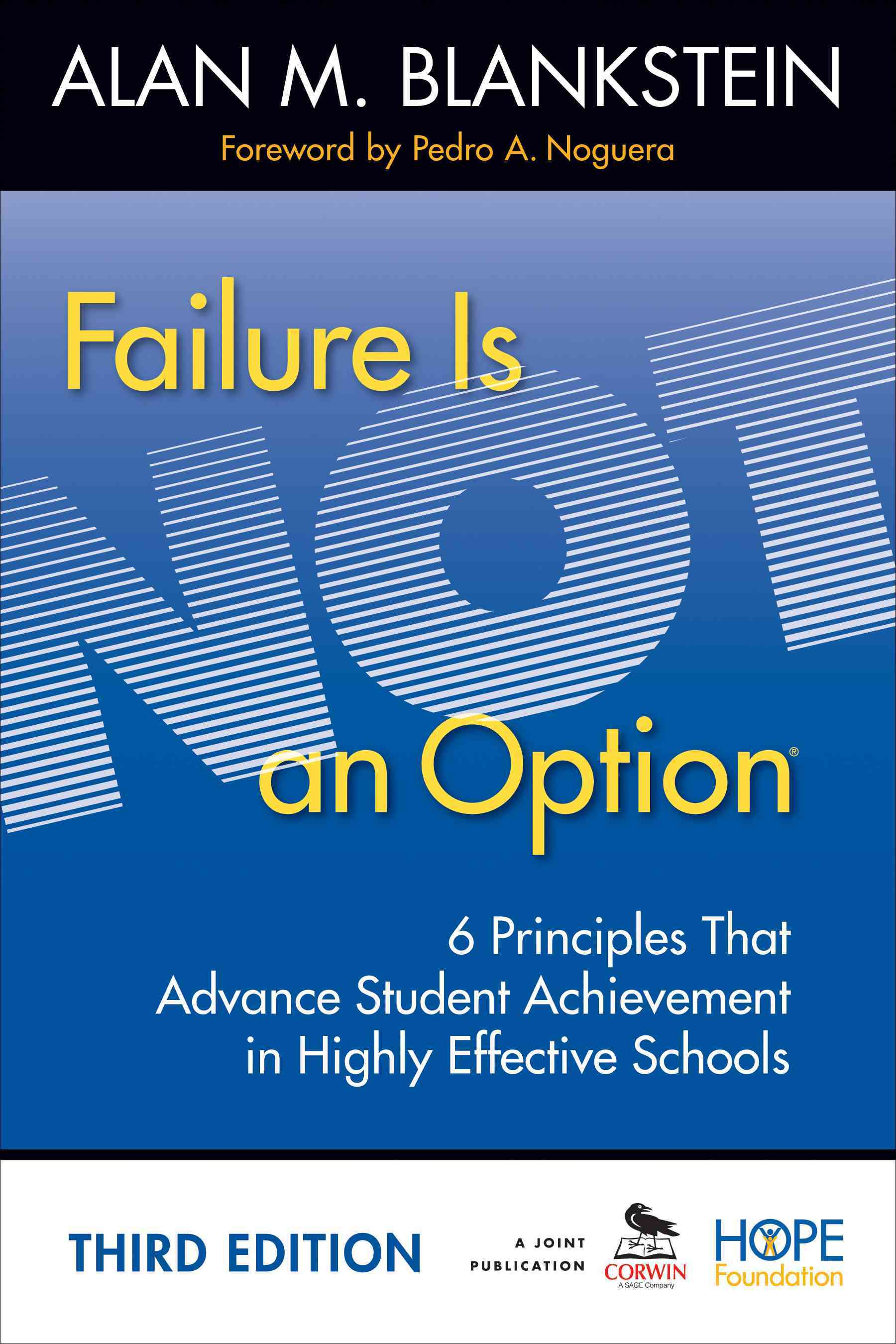 Failure Is Not an Option By Blankstein, Alan M.